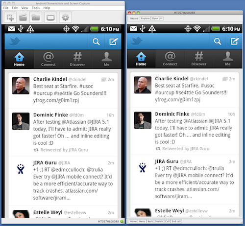 Android Screencast Comparison