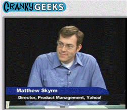 Matthew Skyrm on Cranky Geeks
