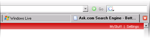 Firefox 1.5 tab UI screenshot