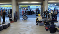 Corvette Garage and Pits