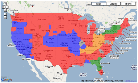 NFL Viewership Maps