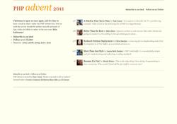 PHP Advent Calendar 2011