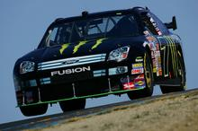 Robby Gordon during his qualifying lap at Infineon Raceway, June 22, 2007