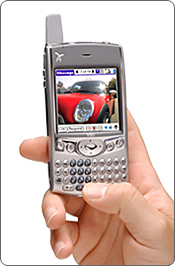 Handspring Treo 600 Preview