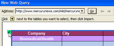 Microsoft Excel Web Queries (Screencast) - Brian Cantoni