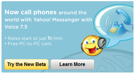 Yahoo! Messenger 7.5 Beta