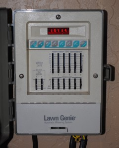 Photo of Lawn Genie sprinkler controller