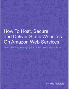 Book cover for learning Amazon Web Service